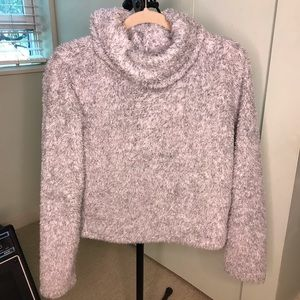 Aerie Fuzzy Cowl Top